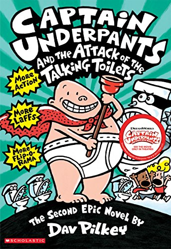Captain Underpants and the Attack of the Talking Toilets (Captain Underpants #2) por Dav Pilkey