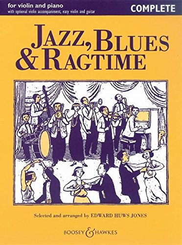 Jazz, Blues & Ragtime: Violin and Piano - Complete