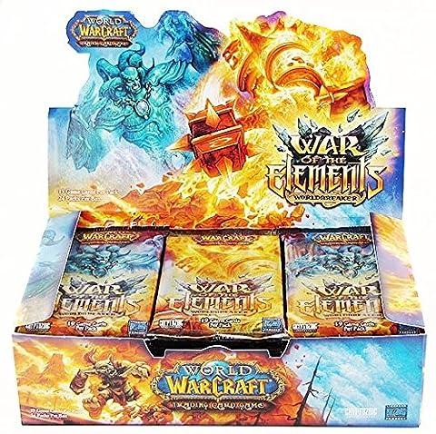 Upper Deck - World Of Warcraft JCC Boite de 24 Boosters War of the Elements V