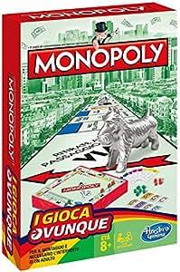 Hasbro Gaming - Monopoly Travel (Gioco in Scatola), B1002103