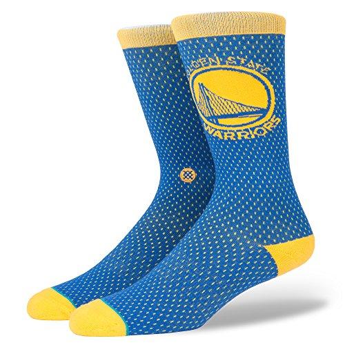Warriors Jersey Socken blue Größe: L Farbe: blue (Jordan Retro 3 Sport Blue)