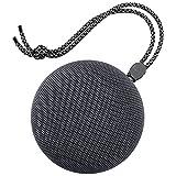 LLZMNYX Mini Stereo Lautsprecher/Musik/Tragbar/Bluetooth/Lautsprecher/Mini/Handy/Audio/Subwoofer, Grau