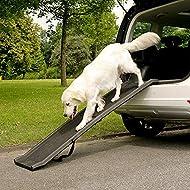 Marko Pet Accessories Dog Pet Ramp Plastic Folding Lightweight Strong Travel Transport Car Van