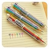 MAXGOODS 6 Farben Kugelschreiber Für Kinder Schüler Student Bürobedarf Geschenke (3-Pack)
