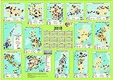 Kraftwerke und Verbundnetze ausgewählter Länder in Europa * Wandkalender 2018 im Format DIN A0 (Querformat 119 x 84 cm)