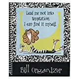 Monthly Bill Paying Organizer Budget Planner Book with Pockets to Store and Record Expenses