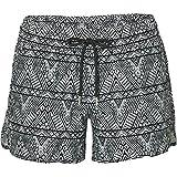 O'Neill Damen M & m Print Boardshort Bademode Badeshorts, Black AOP W/White, L