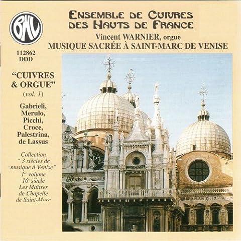 Musique Sacrée à Saint-Marc de Venise (Cuivres et Orgue)