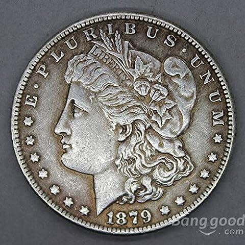 Bazaar 10pcs morgan reine pièce vieille pièce de monnaie commémorative imitation devises