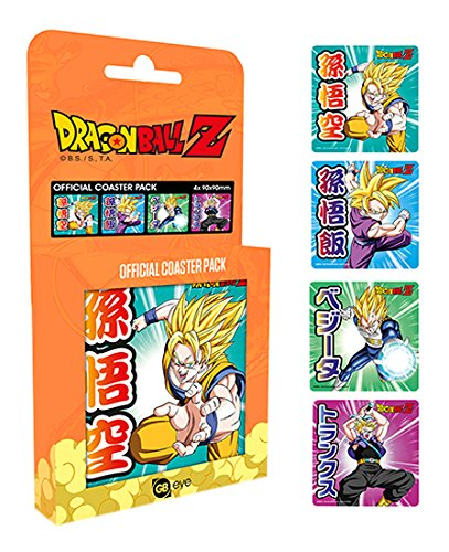 GB Eye LTD, Dragon Ball Z, Mix, Set de Dessous de Verre