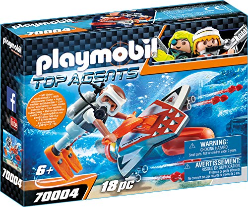 Playmobil Top Agents Spy Team Underwater Wing - Sets