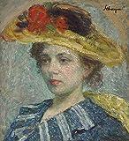 Das Museum Outlet-Frau in einer Mütze-Poster Print Online kaufen (101,6x 127cm)
