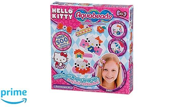 Aquabeads Schwarze Perlen Nachfüll Set 600 Ersatzperlen Basteln Spielzeug 32658
