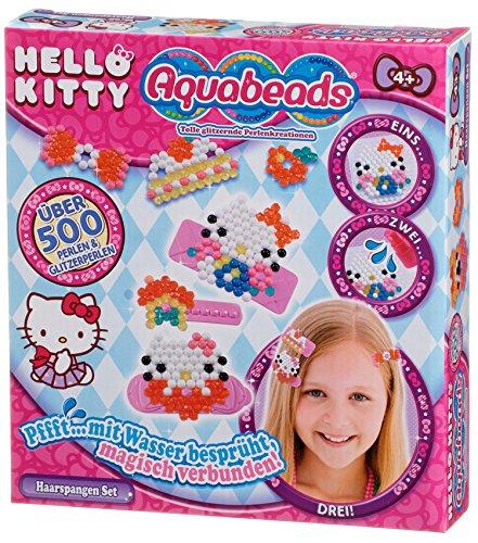 Aquabeads 79978 - Hello Kitty Haarspangen Set, Bastelset für Mädchen