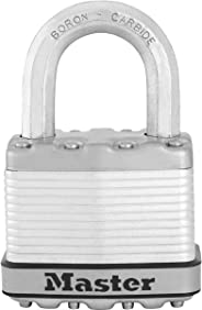 Master Lock Excel Lamine Çelik 50  Mmasma Kilit Gövde Korumalı, Metalik