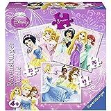 Disney Princess - Puzzle, 25-36-49 piezas (Ravensburger 07319 1)