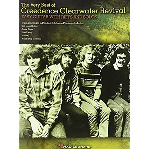 The Very Best of Creedence Clearwater Revival - Easy Guitar W/ Riffs and Solos (W/Tab) by Creedence Clearwater Revival (2008) Paperback