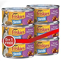 Friskies Purina Shreded Turkey and Cheese Crips - 156 gm, Pack of 6