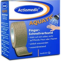 Actiomedic® AQUATIC Schnellverband 5 cm x 7 m Hautfarben selbsthaftend preisvergleich bei billige-tabletten.eu