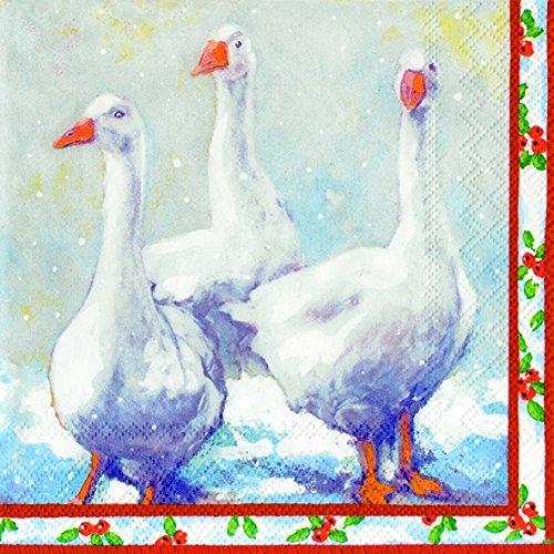weihnachten-ganse-weihnachten-gans-luncheon-papier-tisch-servietten-20-in-einer-packung-33-cm-quadra