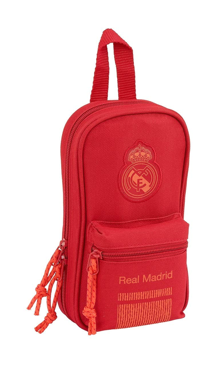Real Madrid CF- Plumier, Color Rojo (SAFTA 411957747)
