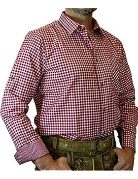 trenditionals Trachtenhemd Martin kariert mit edlen Karo Kontrasten