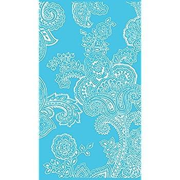 Blau 90x180cm Badetuch jilda-tex Strandtuch Paisley