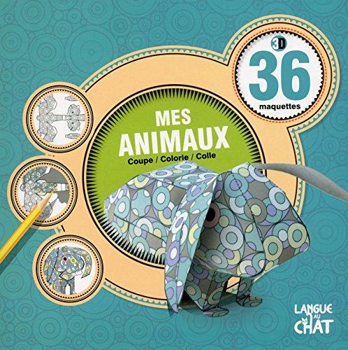 36 maquettes 3D - Mes animaux