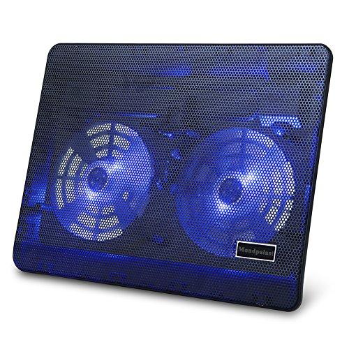 Mondpalast @ Base Sistema Ventola di Raffreddamento Appoggio Supporto Cooling Stand con Blue LED per (Sistema Calore)