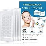Acne-pleisters, 216 stks onzichtbare hydrocolloïde absorberende puistjes, acne-behandelingen spot-patches acnestickers acne-g