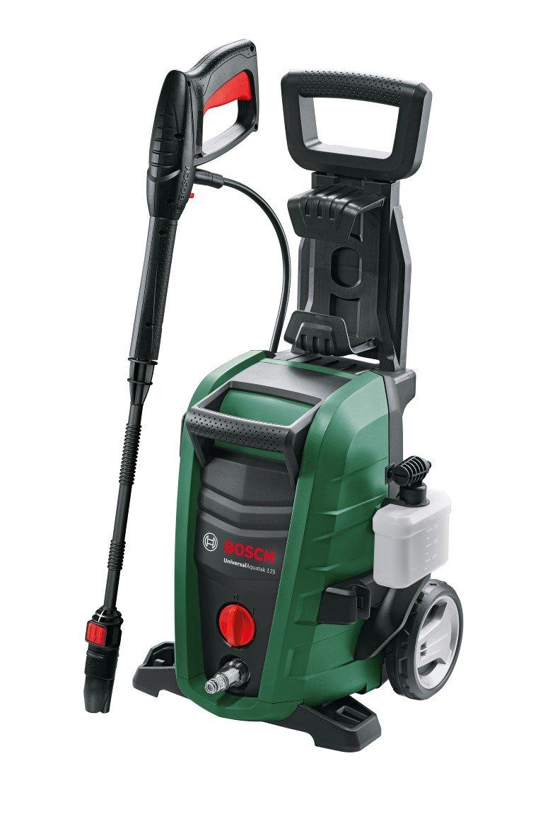 Bosch – Hidrolimpiadora de alta presión (2 boquillas, filtro de agua, pistola de alta presión, manguera, cable 5 m