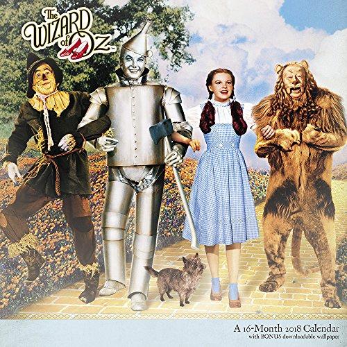 2018Der Zauberer von Oz Wandkalender (Mead) (Der Oz Zauberer Von Lion)