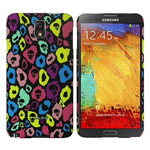 Heartly Leopard Style Printed Design High Quality Hard Bumper Back Case Cover For Samsung Galaxy Note 3 Neo N7500 N7505 - Best Black  available at amazon for Rs.249
