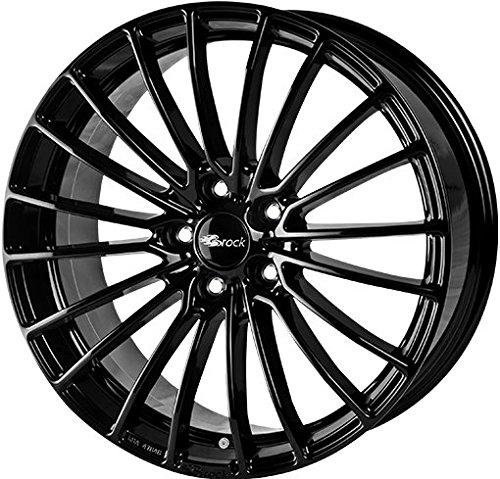 Brock-B24-7-x-16-et-38-diametro-bulloni-4-x-100-Hub-centraggio-634-580070201-Black-front-polished