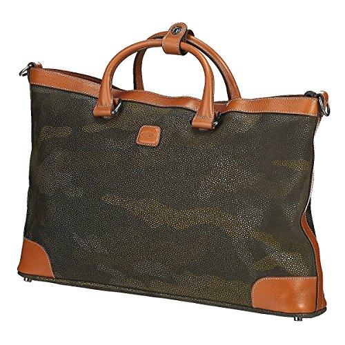 Brics Life Milano Shopper Tasche 44 Cm Militare