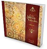 GOCKLER® 3 Jahres Kalender: 190+ Seiten Journal für 3 Jahre || Glänzendes Softcover || Ideal als Tagebuch, Notizkalender, Aufgabenplaner oder Erfolgsjournal || DesignArt.: Orange