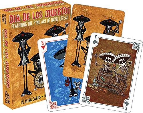(Aquarius Dia de Los Muertos Spielkarten)