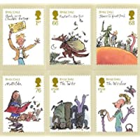 Roald Dahl Full Set of PHQ Cards No. 358 Royal Mail Mint