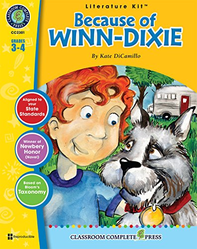 because-of-winn-dixie-grades-3-4-with-transparencies-literature-kit