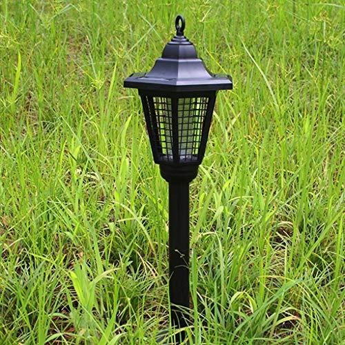 YHDEN Solar Energy Hexagon Mosquito Kille Lampe, Draussen Wasserdicht Elektronisch Insektenspray, Beleuchtung und Anti-Moskito-Doppelfunktion, Plug-in-Licht