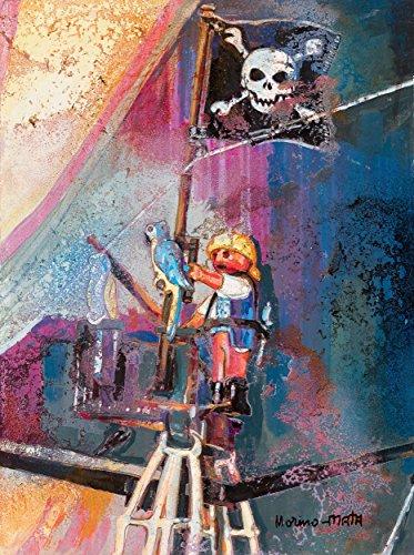 Playmobil Clicks Piratas I Pintura Original Hecha