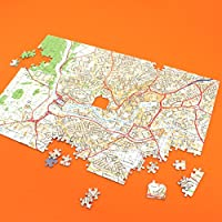 Butler and Hill Personalised Streetview Map Jigsaw Puzzle (400 pieces) - Gift