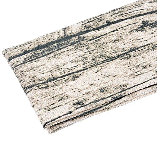 Souarts Textile Tissu Coton Lin pr Diy Patchwork Couture 96x52cm