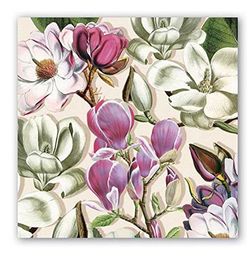 Michel Design Works 20Zählen Lunch-Servietten Magnolia -