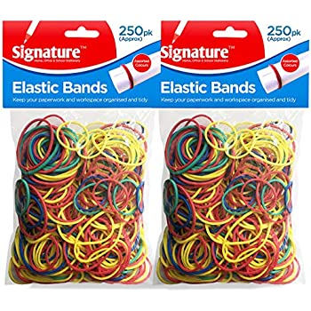 1200 Mixed Neon Color Mini Rubber Rope Elastic Hair Bands Ties Braids Plaits