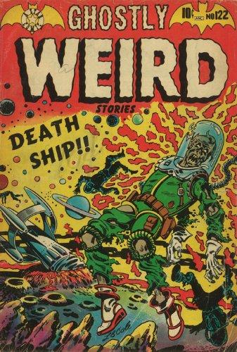 Ghostly Weird Stories Nr. 122 März 1954 Kunstdruck -