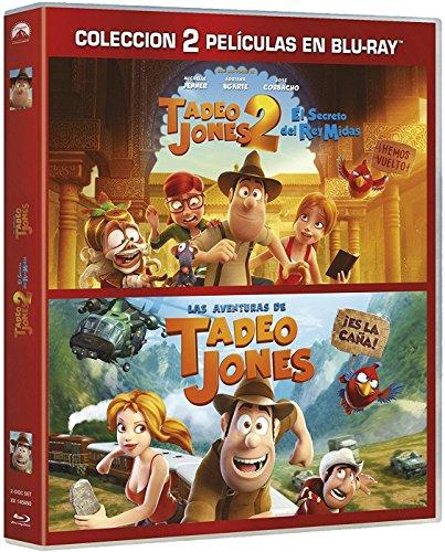 Pack: Tadeo Jones 1+ Tadeo Jones 2 [Blu-ray] 61Tye1KjVqL
