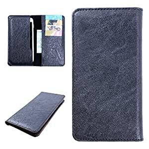 DooDa PU Leather Case Cover For Huawei Honor BEE (Black)