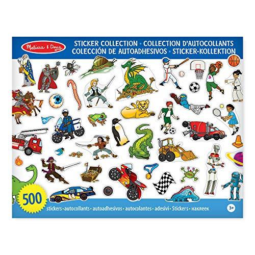 ersammlung - Dinosaurier, Fahrzeuge, Weltraum und mehr (500 Sticker) ()