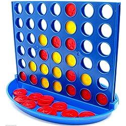 Conecta 4, juego de mesa familiar, 4 en raya, diversión en familia